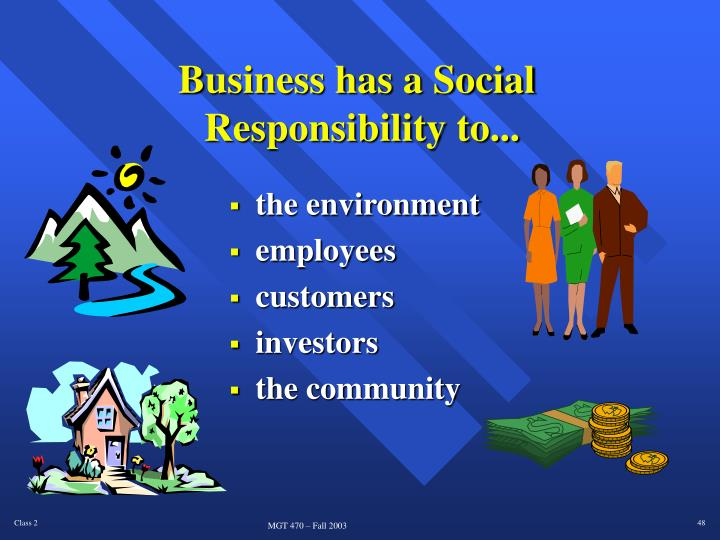 Business has a Social