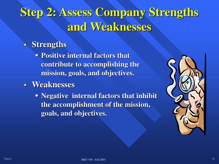 Step 2: Assess Company Strengths
