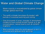water and global climate change2