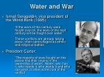 water and war1