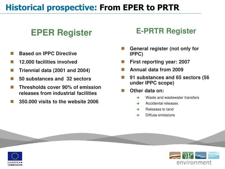 EPER Register