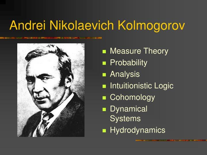 Andrei Nikolaevich Kolmogorov