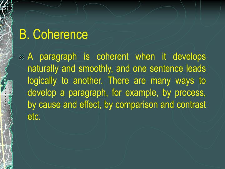 B. Coherence