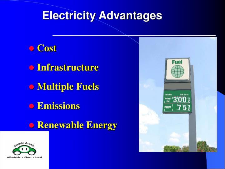 Electricity Advantages