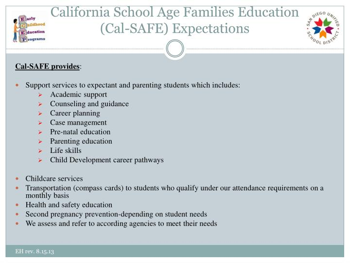 California School Age Families Education