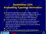evaluation 3 4 evaluating typology derivation