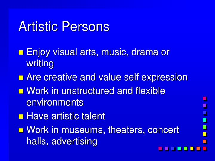 Artistic Persons