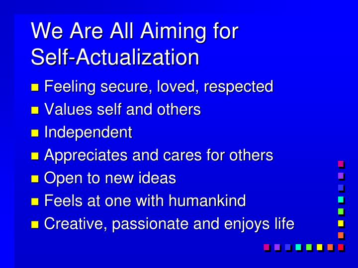 We Are All Aiming for