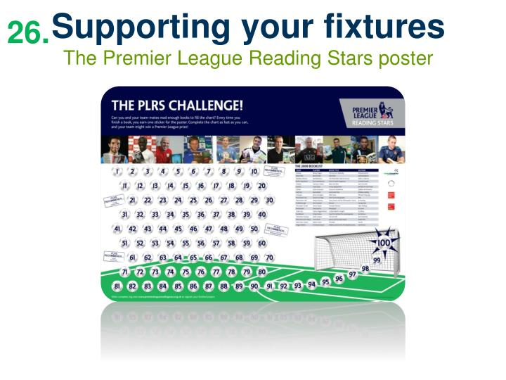 Supporting your fixtures
