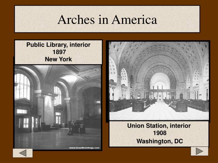 Arches in America