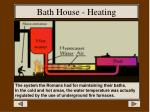bath house heating