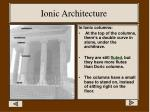 ionic architecture1