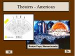 theaters american