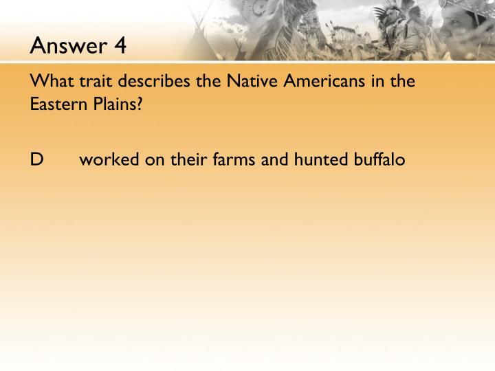 Answer 4