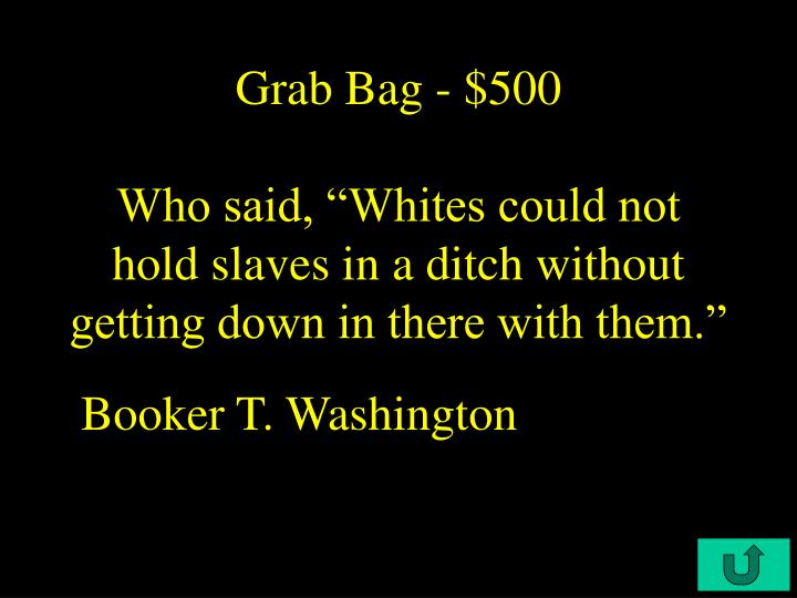 Grab Bag - $500
