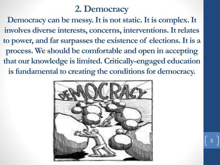 2. Democracy