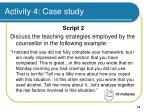 activity 4 case study
