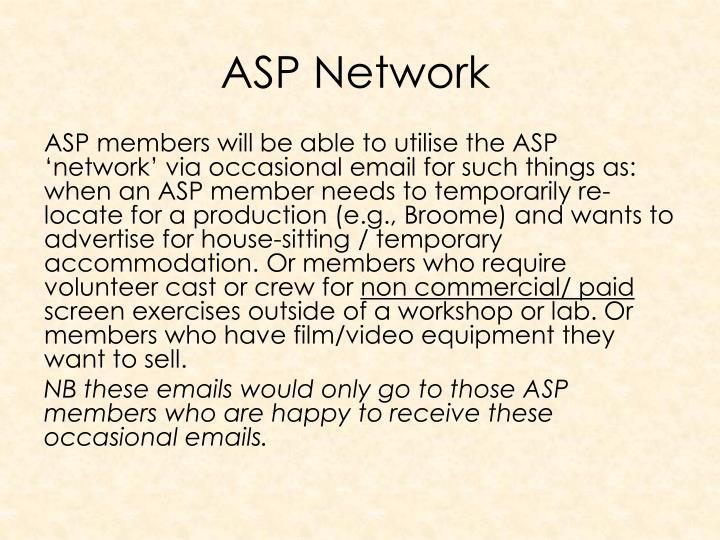 ASP Network