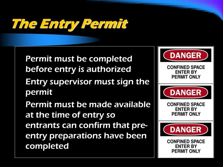 The Entry Permit