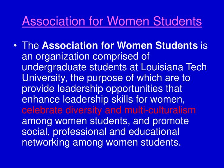 Association for Women Students