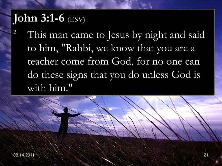 John 3:1-6