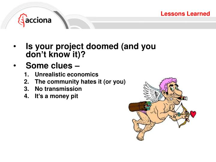 Is your project doomed (and you don't know it)?