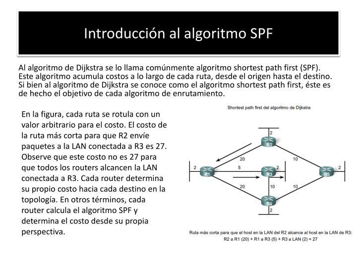 Introducción al algoritmo SPF