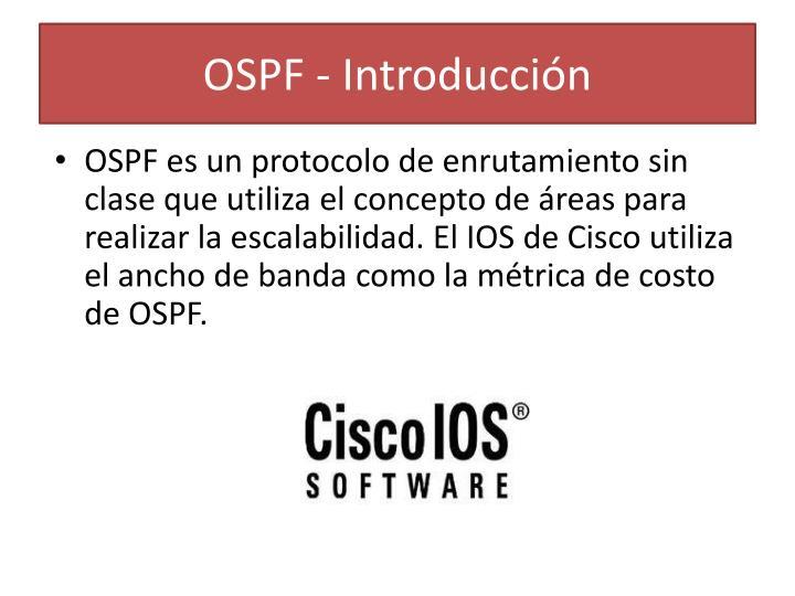 OSPF - Introducción
