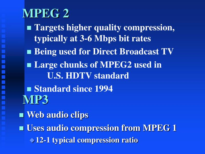 MPEG 2