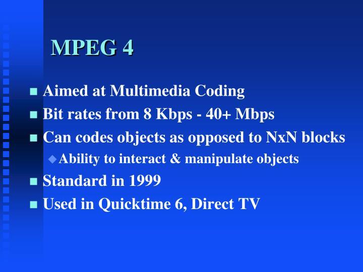 MPEG 4
