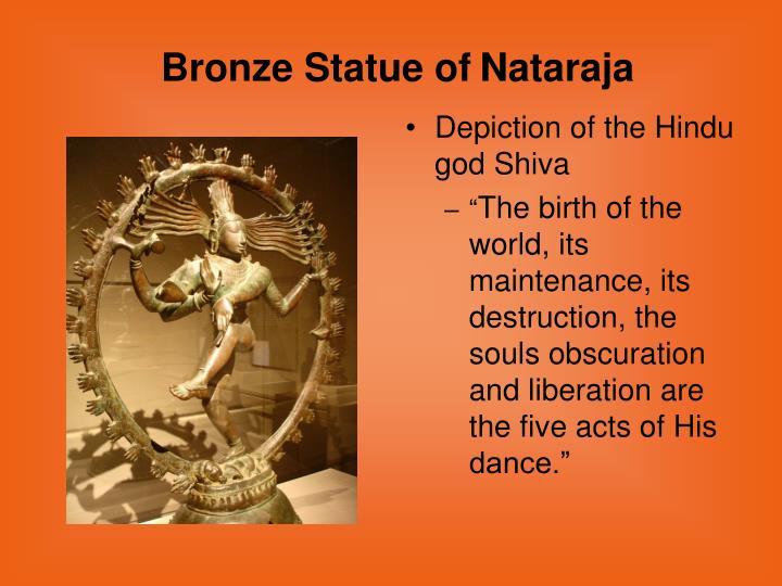 Depiction of the Hindu god Shiva