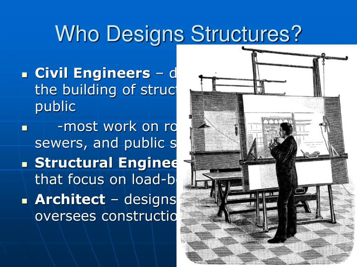 Who Designs Structures?