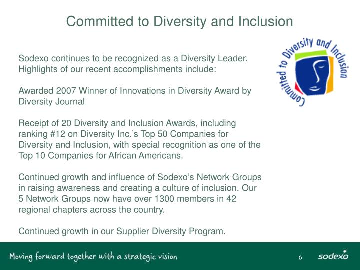 Committed to Diversity and Inclusion