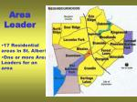 area leader
