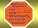 neighbourhood watch works