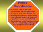 police coordinator