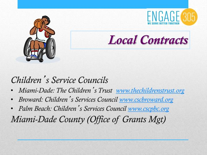 Local Contracts