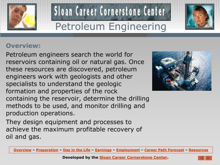 Petroleum engineering1
