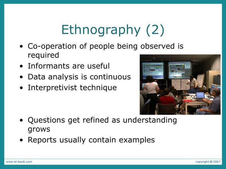 Ethnography (2)