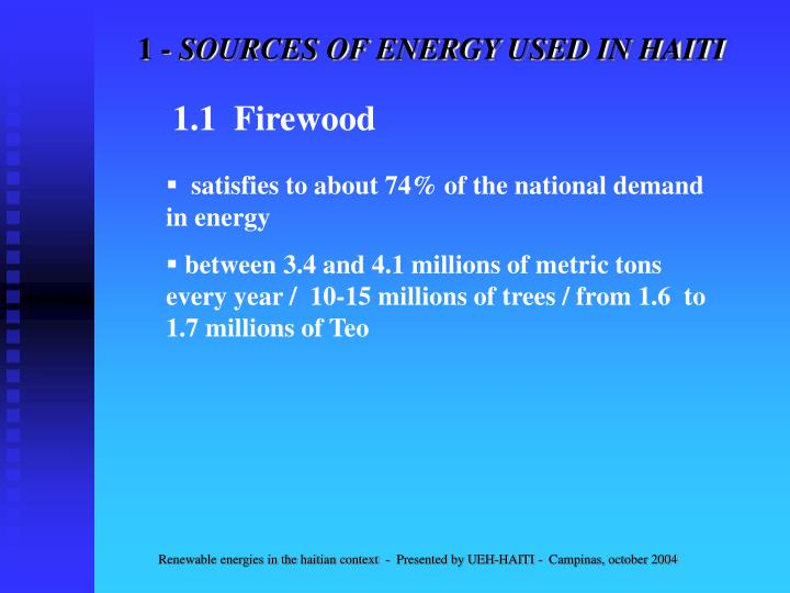 1 sources of energy used in haiti1