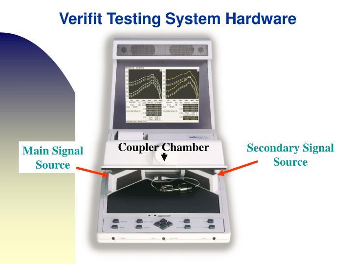 Verifit Testing System Hardware