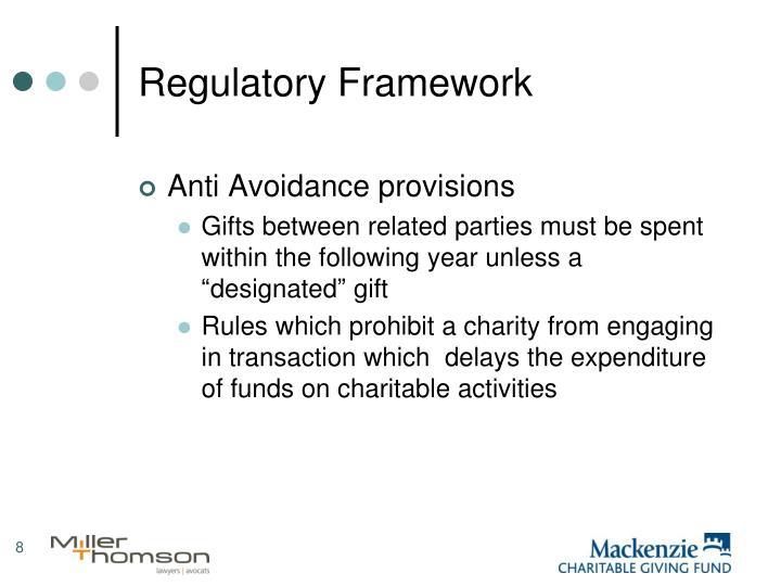 Regulatory Framework
