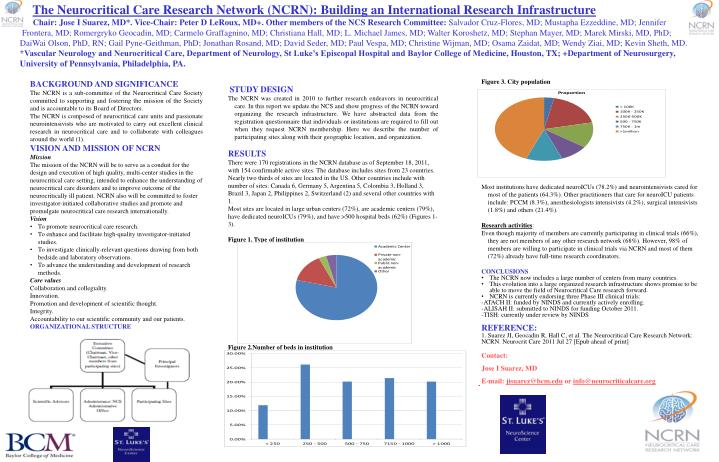 The Neurocritical Care Research Network (NCRN): Building an International Research Infrastructure
