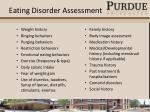 eating disorder assessment