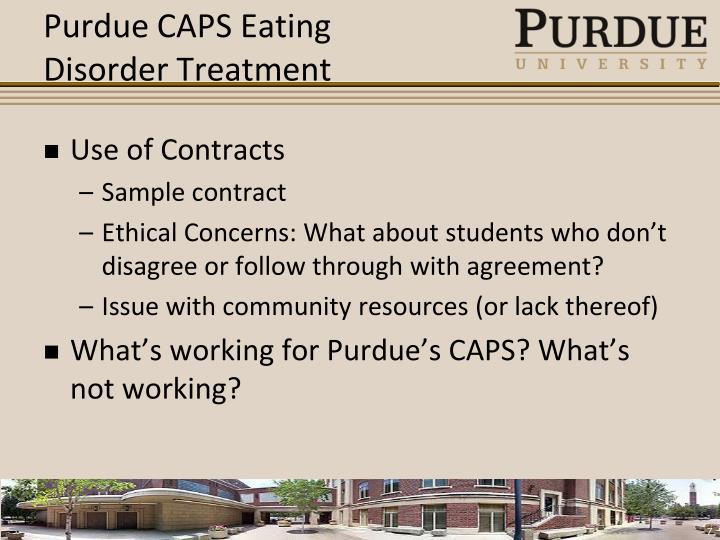 Purdue CAPS Eating