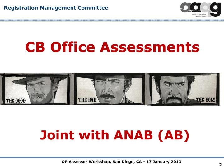 CB Office Assessments