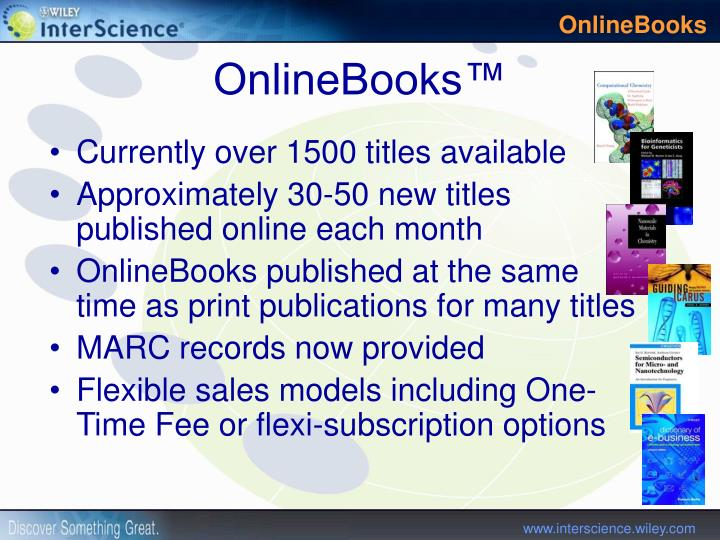 Currently over 1500 titles available