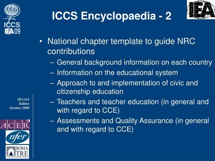 ICCS Encyclopaedia - 2