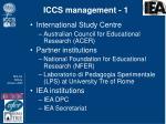 iccs management 1