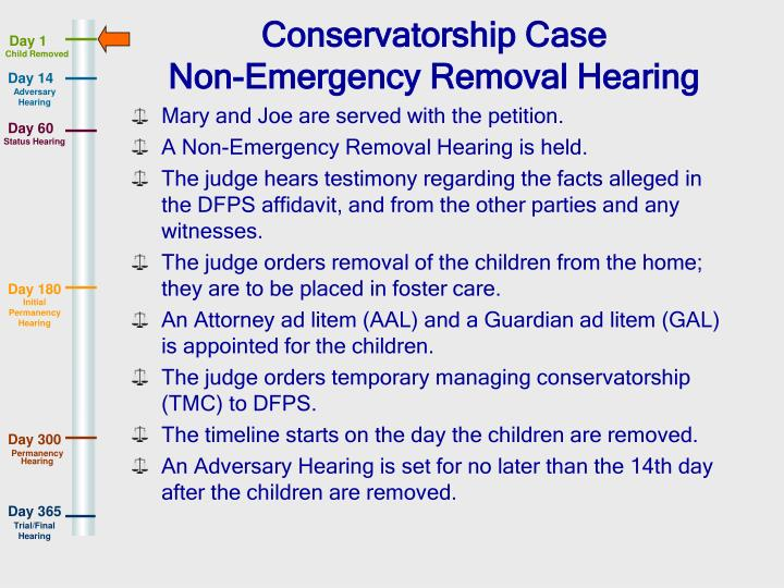 Conservatorship Case